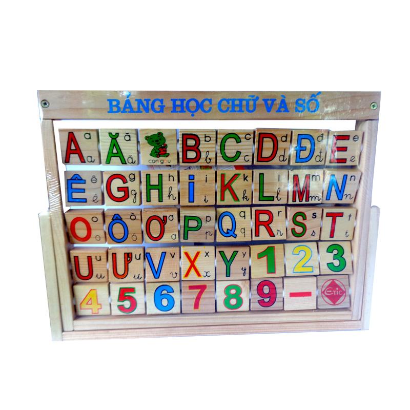 Bảng Alphabet tiếng Việt ETIC C770