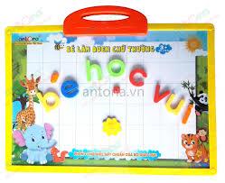 Bảng nam châm Antona - Bé làm quen chữ thường 179A