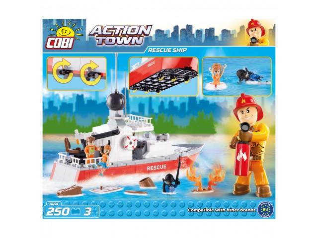 Bộ đồ chơi lắp ráp tàu cứu hộ COBI-1464