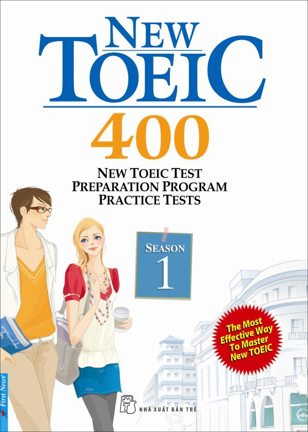 BỘ SÁCH NEW TOEIC - NEW TOEIC TEST PREPARATION PROGRAM PRACTICE TESTS+CD
