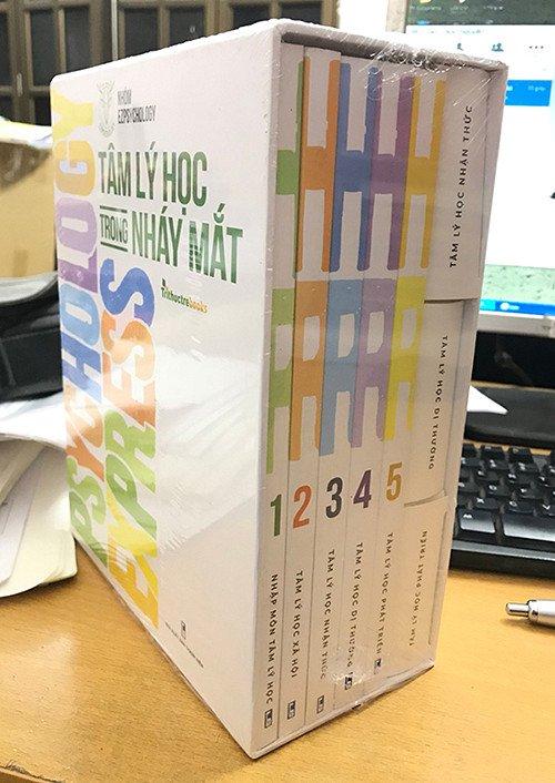 BOXET SÁCH TÂM LÝ HỌC TRONG NHÁY MẮT ( Bộ gồm 5 tập)