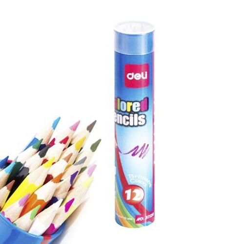 Bút chì 12 màu Deli - 37120