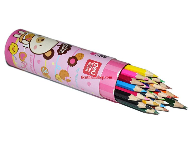 Bút chì 24 màu Deli - 7014