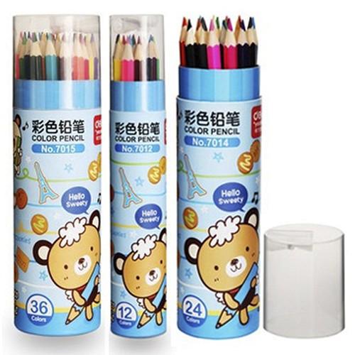 Bút chì 36 màu Deli - 7015