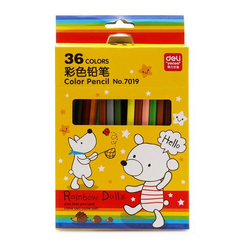 Bút chì 36 màu Deli - 7019