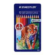 Bút chì màu Staedtler 145 AM12 12 màu (Hộp thiếc)