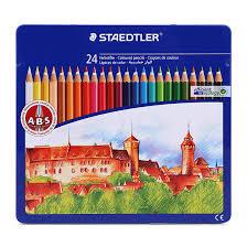 Bút chì màu Staedtler 145 CM24 24 màu (Hộp thiếc)