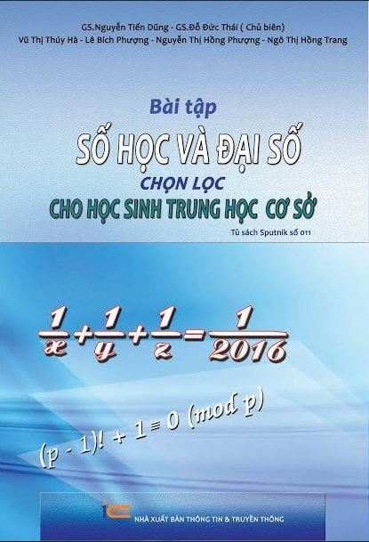 Combo Bài tập số học, đại số và hình học chọn lọc THCS