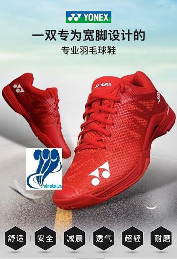 Giày cầu lông YONEX AERUS 3 - Đỏ (Chính hãng)