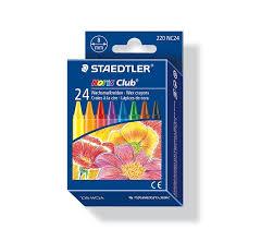 Sáp Màu Staedtler Noris 2200 NC24 (24 Màu)