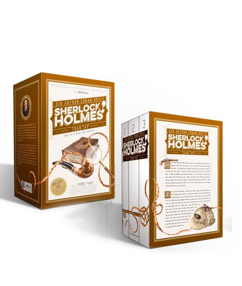 Sherlock Holmes toàn tập (hộp đứng, 3 tập, bìa mềm)