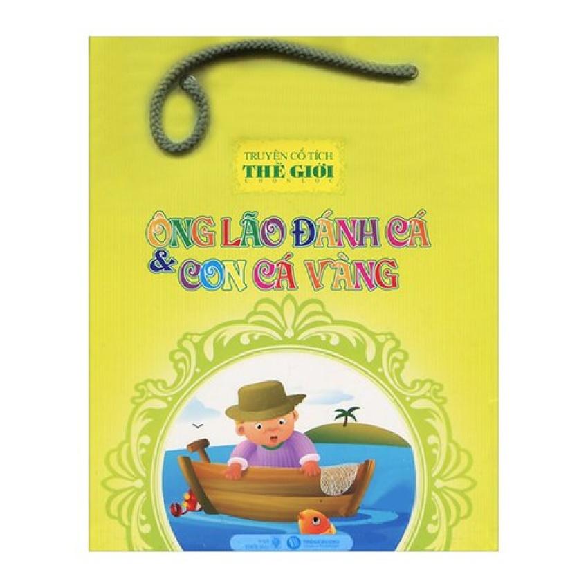 Truyện Cổ Tích Thế Giới - Ông Lão Đánh Cá Và Con Cá Vàng (Túi 5 Cuốn)