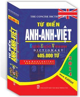 Từ điển Anh - Anh - Việt 405.000 từ ( Bìa Cứng )