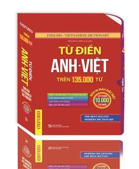 Từ điển Việt Anh trên 135.000 từ (hộp bao bản màu)