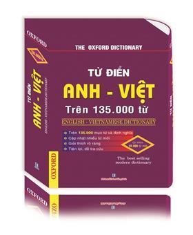 Từ điển Việt Anh trên 135.000 từ (hộp bao)