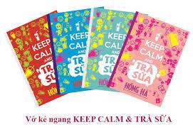 Vở Keep Calm & Trà Chanh 1398