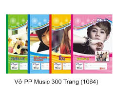 Vở Pupil Music 1064